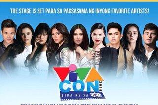 Sarah, Bela, Yam, Nadine nagsama-sama sa VivaCon 2019