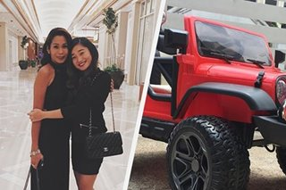 Dream car prank: Pokwang surprises daughter Mae with 'Jeep 4x4'