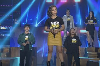 WATCH: 'Rak of Aegis' stars perform on 'Showtime'