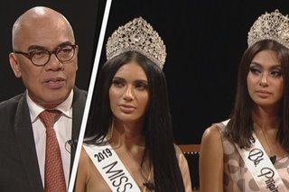 WATCH: Boy Abunda helps Bb. Pilipinas 2019 queens nail Q&A