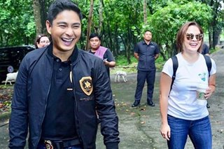 'Abangan': Judy Ann spotted with Coco Martin on 'Ang Probinsyano' set