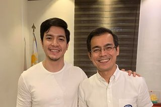 LOOK: Alden Richards pays courtesy call on Mayor Isko