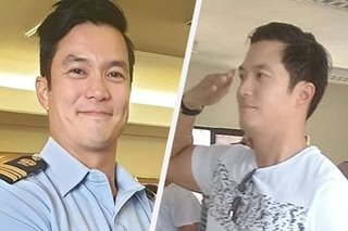 LOOK: Diether Ocampo is now a PCGA Lieutenant Commander