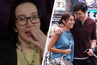 'Magang-maga ang mata': Kris Aquino all praises for 'Hello, Love, Goodbye'