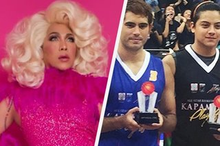 Vice Ganda makakatunggali sina Gerald, Daniel sa 'All-Star' basketball game