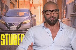 Fil-Am Hollywood star Dave Bautista bida sa 'Stuber'