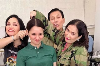 Ryza Cenon, ibinahagi ang kulitan sa set ng 'The General's Daughter'