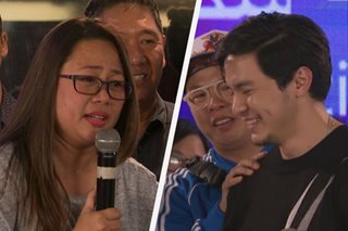 'You're our family, this is not goodbye,' Cathy Garcia-Molina tells tearful Alden