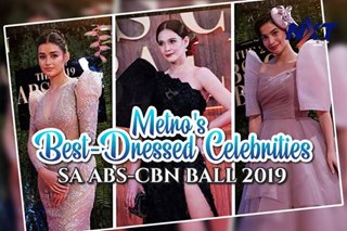 Metro's best-dressed celebrities sa ABS-CBN Ball 2019