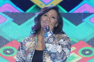 PANOORIN: 'Disco Queen' Jocelyn Enriquez, bumisita sa 'Showtime'