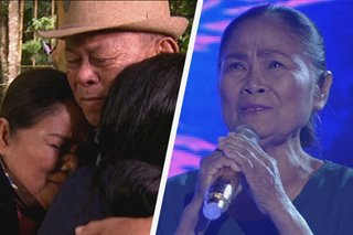 'Ako'y panalo na': Tears flow as Tawag finalist, husband reunite after 47 years