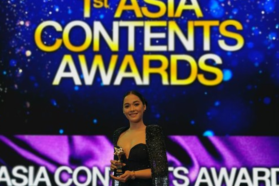 Maja Salvador named best actress at Asian TV awards for 'Wildflower'