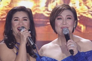 WATCH: Regine Velasquez, Sharon Cuneta team up on 'ASAP' stage
