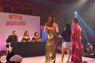 IN PHOTOS: Stars of Netflix show 'Insatiable' meet fans in Manila