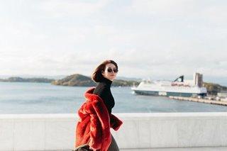 Bea Alonzo, enjoy sa pagbisita sa Norway