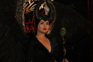 LOOK: Dimples Romana stuns as Maleficent at Black Magic Halloween Party 2019