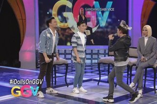 Matty, Lucas, Enzo show off acting, singing skills on 'GGV'