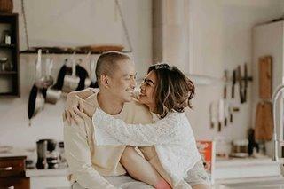 Gee Canlas, Archie Alemania mark first wedding anniversary