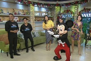 WATCH: Mickey Mouse, Moana on 'UKG'
