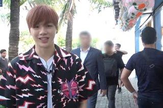 WATCH: Kang Daniel visits bayside amusement park
