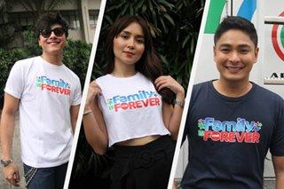LOOK: Kapamilya stars gather for 2019 ABS-CBN Christmas station ID