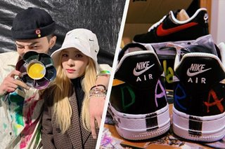 LOOK: Sandara Park thanks G-Dragon for personalized shoes