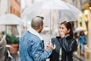 Angel Locsin at Neil Arce, may sweet moments sa Rome