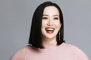 Told she's becoming 'irrelevant,' Kris Aquino says limelight no longer worth it