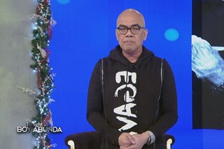 WATCH: In talk show opening, Boy Abunda opens up about pain of losing mother