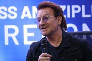 Bono ng bandang U2 inilunsad ang blood-by-drone delivery service sa PH