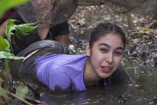 'Getting unglamorous': Julia Barretto, gumapang sa putikan