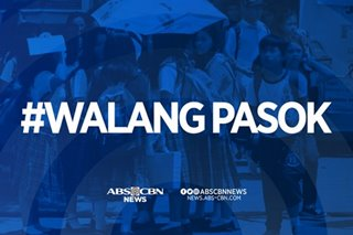 #WalangPasok: Sept 13 due to earthquake