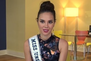 Catriona aims to launch social movements during Miss Universe reign