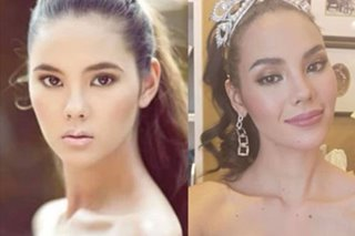 LOOK: Catriona Gray takes on the '10-year challenge'