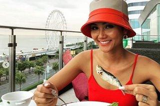 LOOK: Miss Universe Vietnam H'hen Nie is in Manila