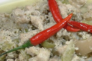 RECIPE: Bicol Express ala Dawn Chang