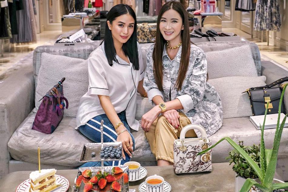 LOOK: Heart Evangelista meets Hermes collector Jamie Chua