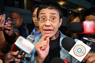 Ressa arrest: Media watchdogs condemn 'harassment'
