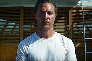 Movie review: McConaughey goes noir in bizarre 'Serenity'