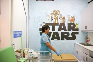 LOOK: 'Star Wars'-themed clinic in PGH brings joy to kids with cancer