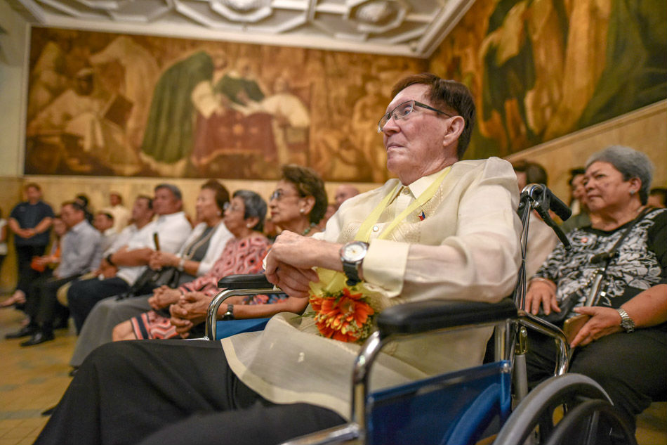 Necrological rites for National Artist Bobby Mañosa on Feb. 24