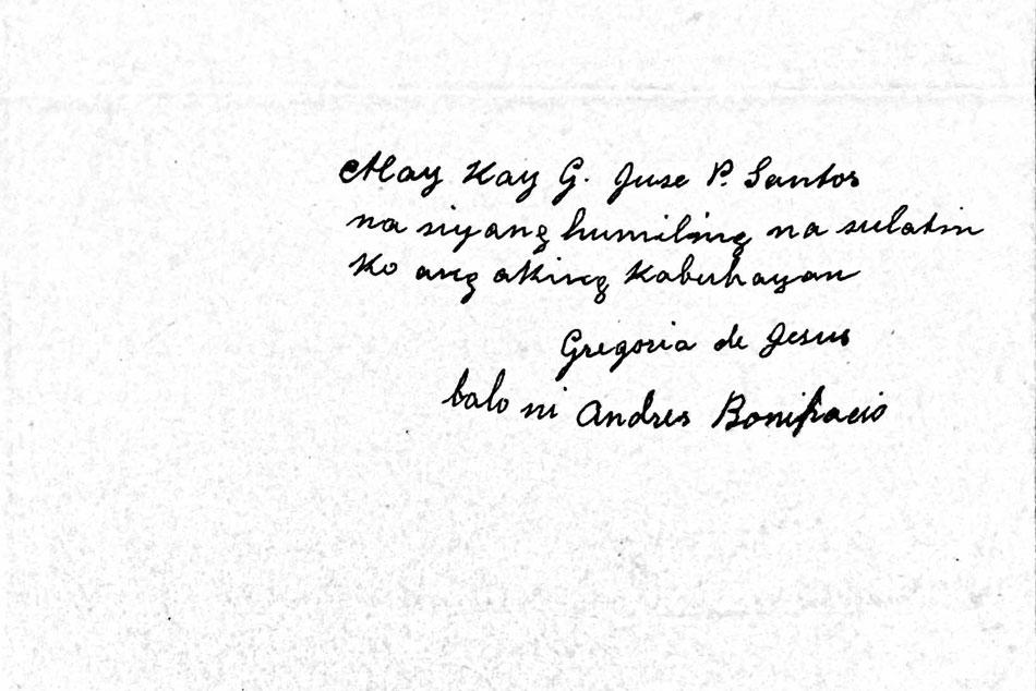 Aguinaldo's 'confession' on Bonifacio kill order up for auction 2