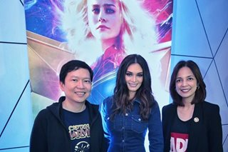 IN PHOTOS: Red carpet PH premiere of 'Captain Marvel'