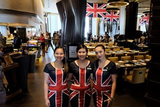 Ortigas eats: There's a British invasion at Marco Polo Manila