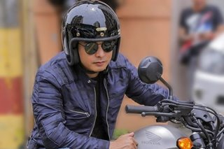 Why Coco Martin loves motorcycles