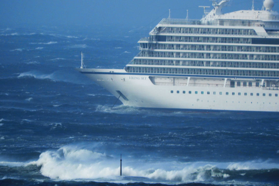 Norwegian Cruise Ship Issues Mayday, Evacuates Passengers Amid Rough Seas