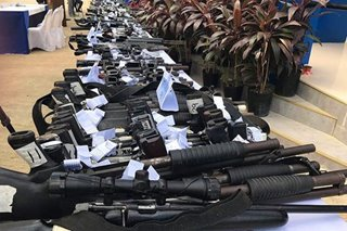 452 loose firearms, nasa pangangalaga ng pulisya sa Misamis Occidental