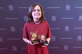 ABS-CBN nag-uwi ng 2 awards sa New York Festivals