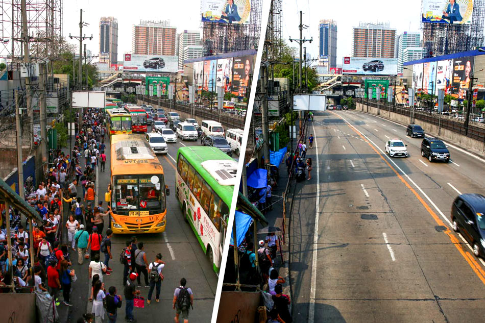 Like heaven and hell? Metro Manila traffic during and before Holy Week
