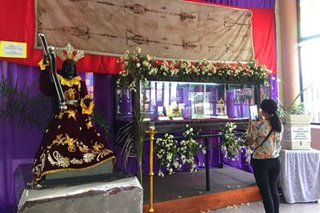 Relics of Passion of Christ exhibited at Novaliches Parish for holy week